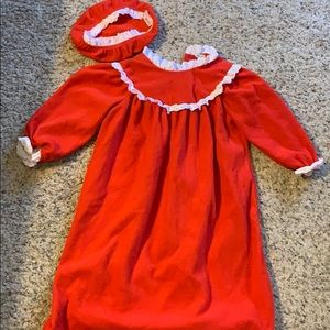 Other - Red Fleece Nightgown